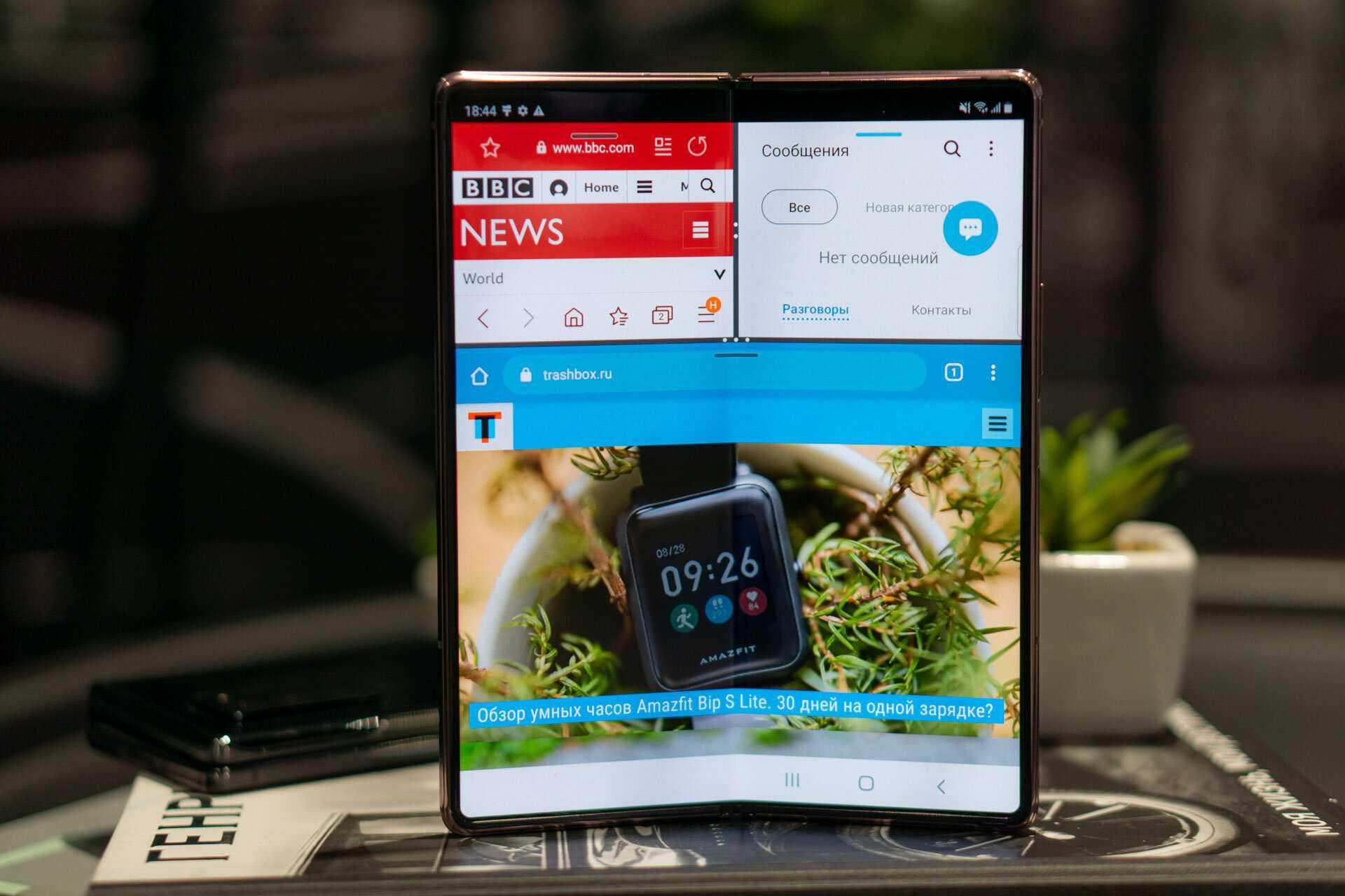 Обзор samsung galaxy z fold2: два экрана, пять камер и флагманская мощность. смартфоны. мтс/медиа