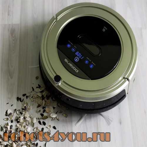 Робот-пылесос polaris pvcr 0920wv rufer для чистки ровных поверхностей