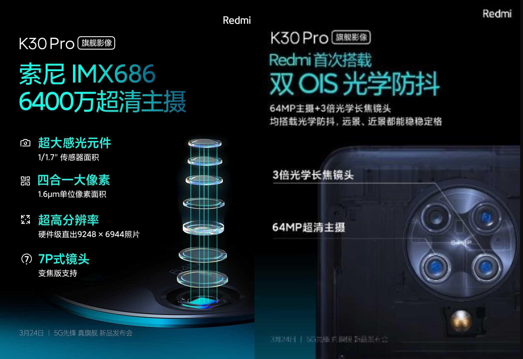 Обзор версии redmi k30 pro zoom, полный экран спереди, флагманский набор камер сзади