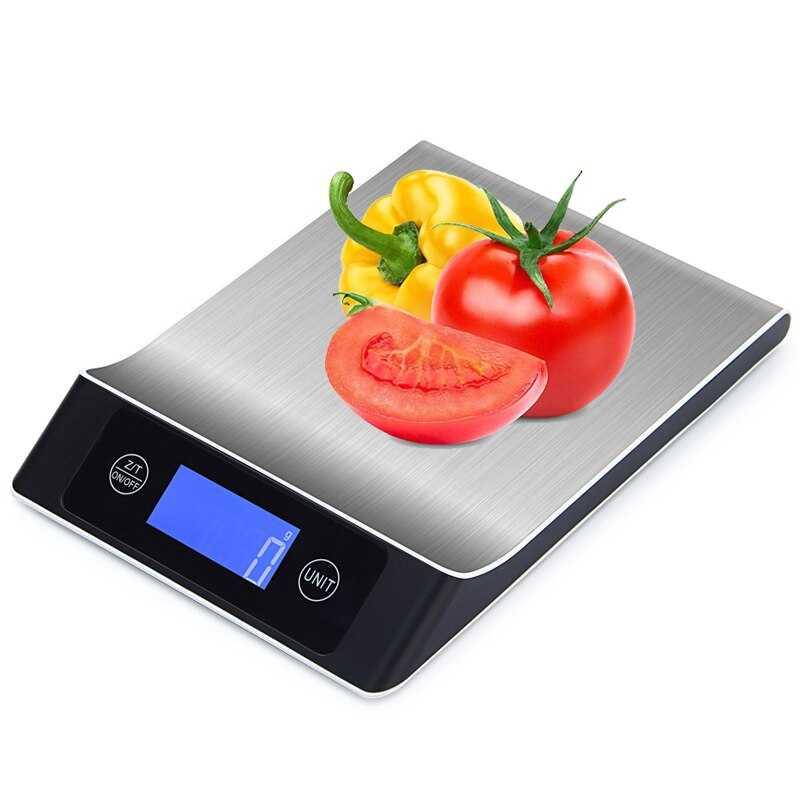 Выбор электронных весов для кухни: 4 параметра для удачной покупки