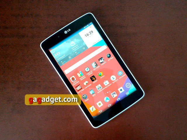 Обзор планшета lg g pad 7.0 (v400) - itc.ua