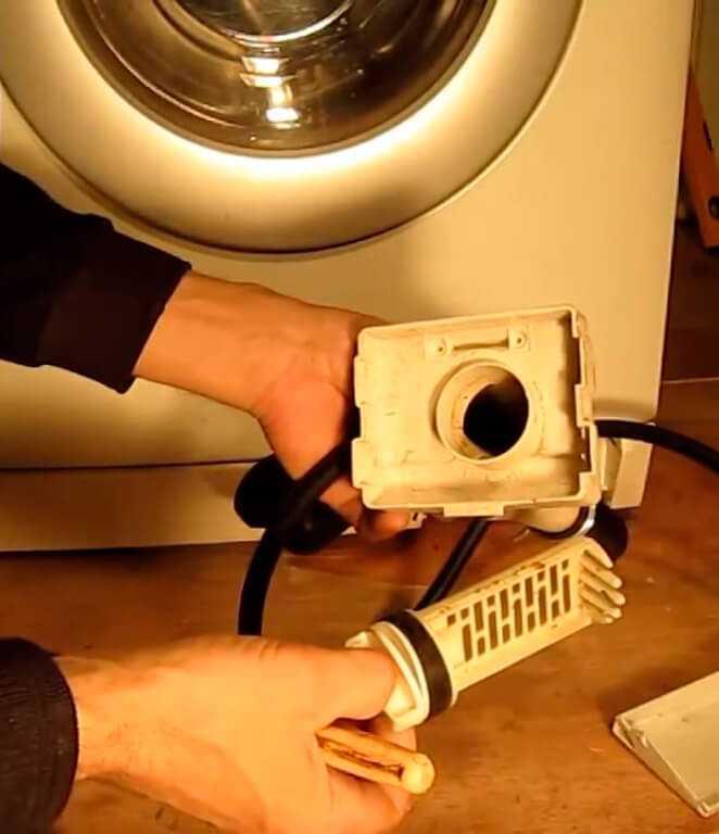 Как почистить фильтр в стиральной машине: особенности чистки сливного и устройства подачи воды в технике с вертикальной и горизонтальной загрузкой