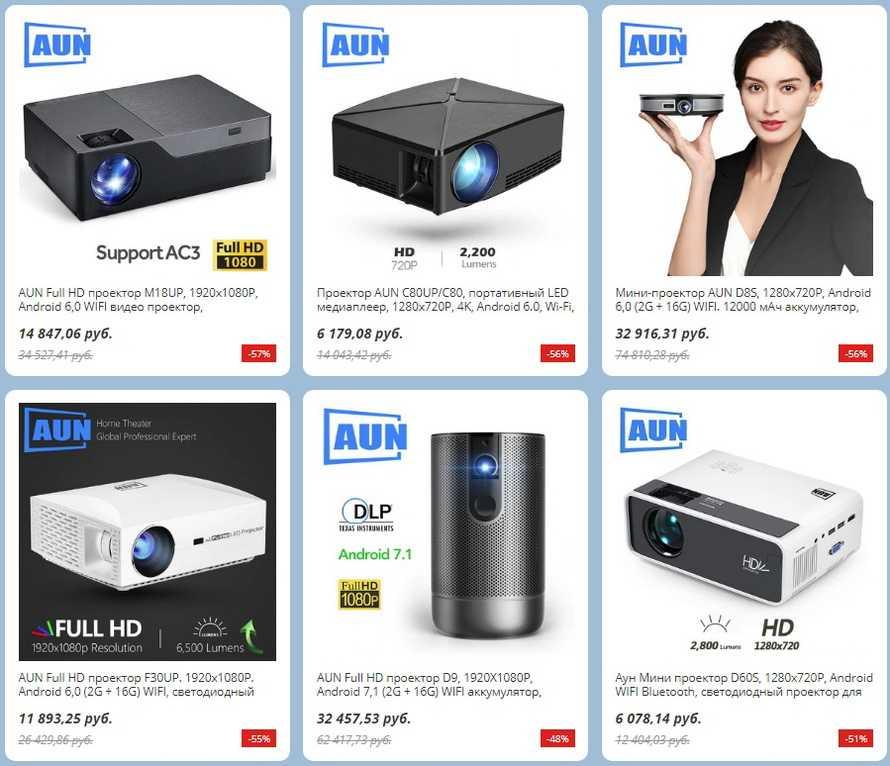 Проектор aun akey6/akey6s: обзор, характеристики, описание