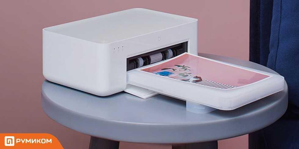 Компактный фотопринтер с функцией автономной печати: xiaomi mijia photo printer 1s