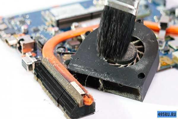 Как почистить вентилятор ноутбука от пыли