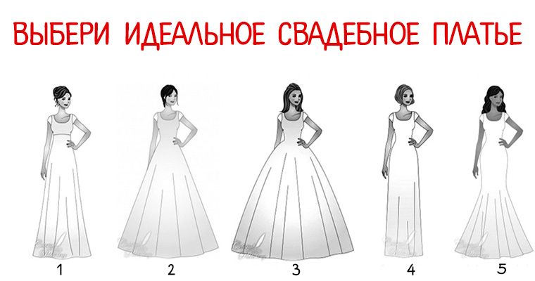 Идеальное свадебное платье: выбор модели, фасона, ткани и цвета