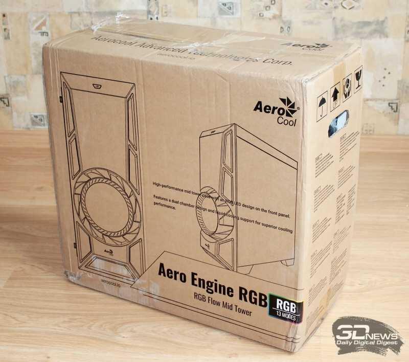 Компания AeroCool сегодня 14 марта представила 6 новых корпусов для персональных компьютеров с яркой RGB-подсветкой Модели позиционируются в качестве топовых решений