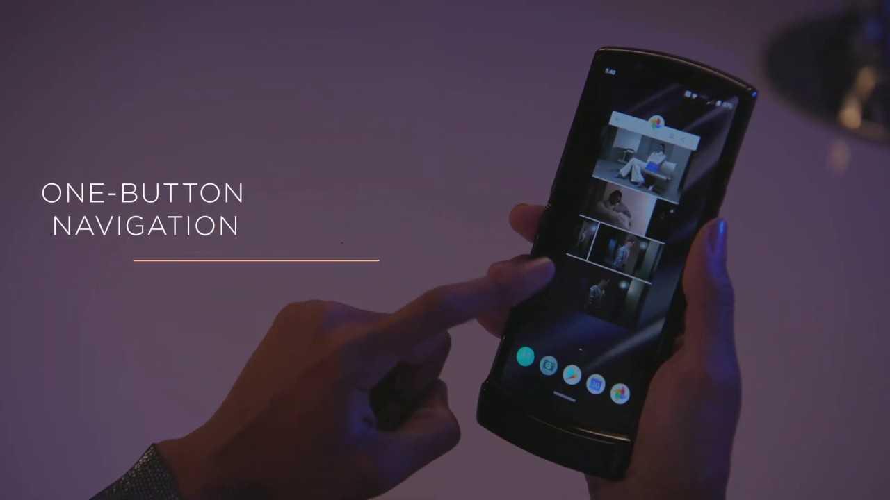 Motorola запатентовала уникальный складной смартфон