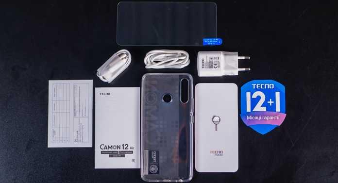 20 ноября в среду компания TECNO Mobile представителя новую модель сегмента для любителей съемки – смартфон CAMON 12 Air Новый телефон реализован в минималистичном