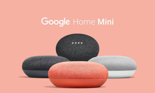 Распаковка и настройка google home mini