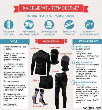 Как правильно носить термобелье: 12 правил. для чего оно нужно, как выбрать качественный материал?