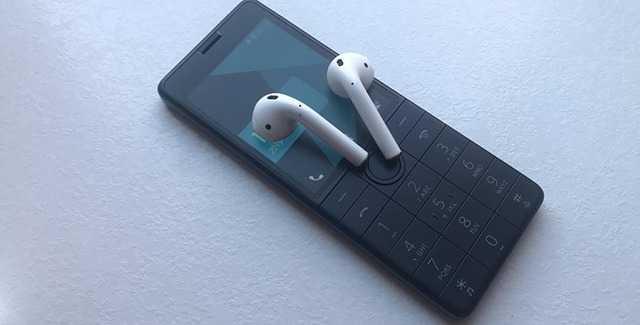Неделю хожу с кнопочным телефоном xiaomi. интересная штука