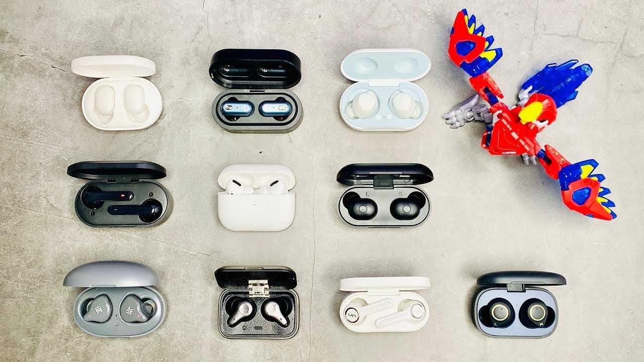 Топ-15 tws наушников затычек с алиэкспресс