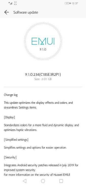 Huawei всё-таки надумала выпустить android 11 для своих смартфонов