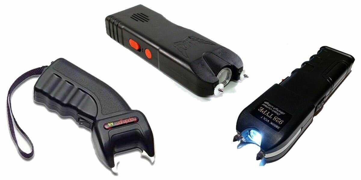 ⚡обзор востребованных электрошокеров для самозащиты