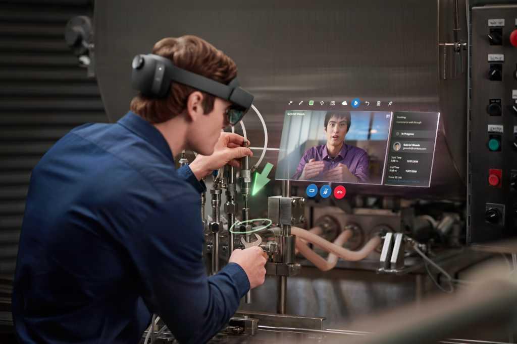 Обзор очков дополнительной реальности microsoft hololens