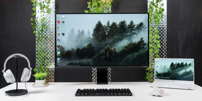 Обзор 27-дюймового wqhd-монитора samsung c27jg50qqi: игровой, изогнутый, доступный / мониторы и проекторы