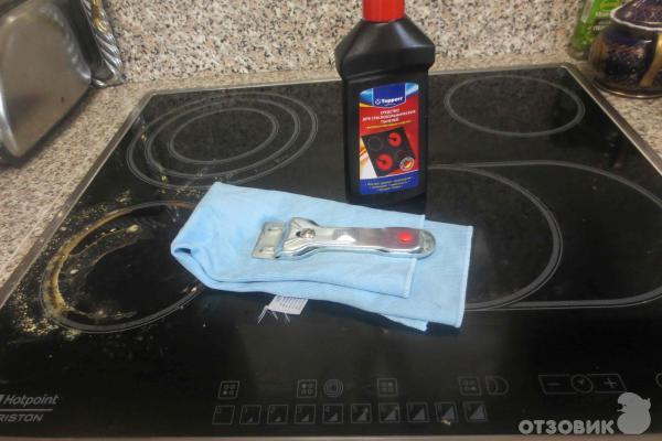 Чем очистить керамическую, индукционную плиту от нагара