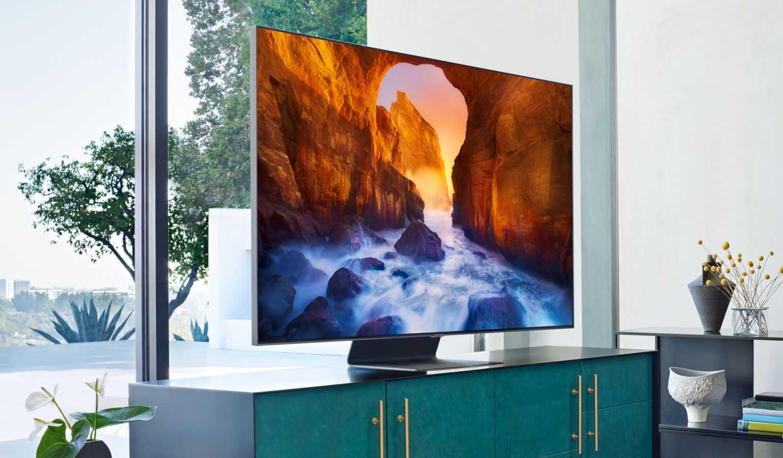 Зачем нужен квантовый процессор новой линейке телевизоров samsung qled 2019?