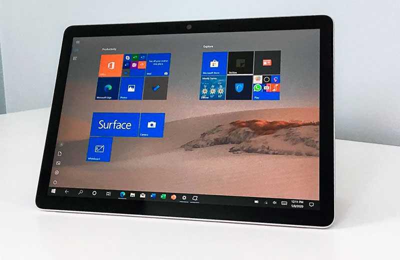 Роланд Куаднт (немецкий инсайдер) поделился новыми снимками бюджетного планшета Surface Go2 от компании Microsoft Исходя из утечки информации дизайн модели как и