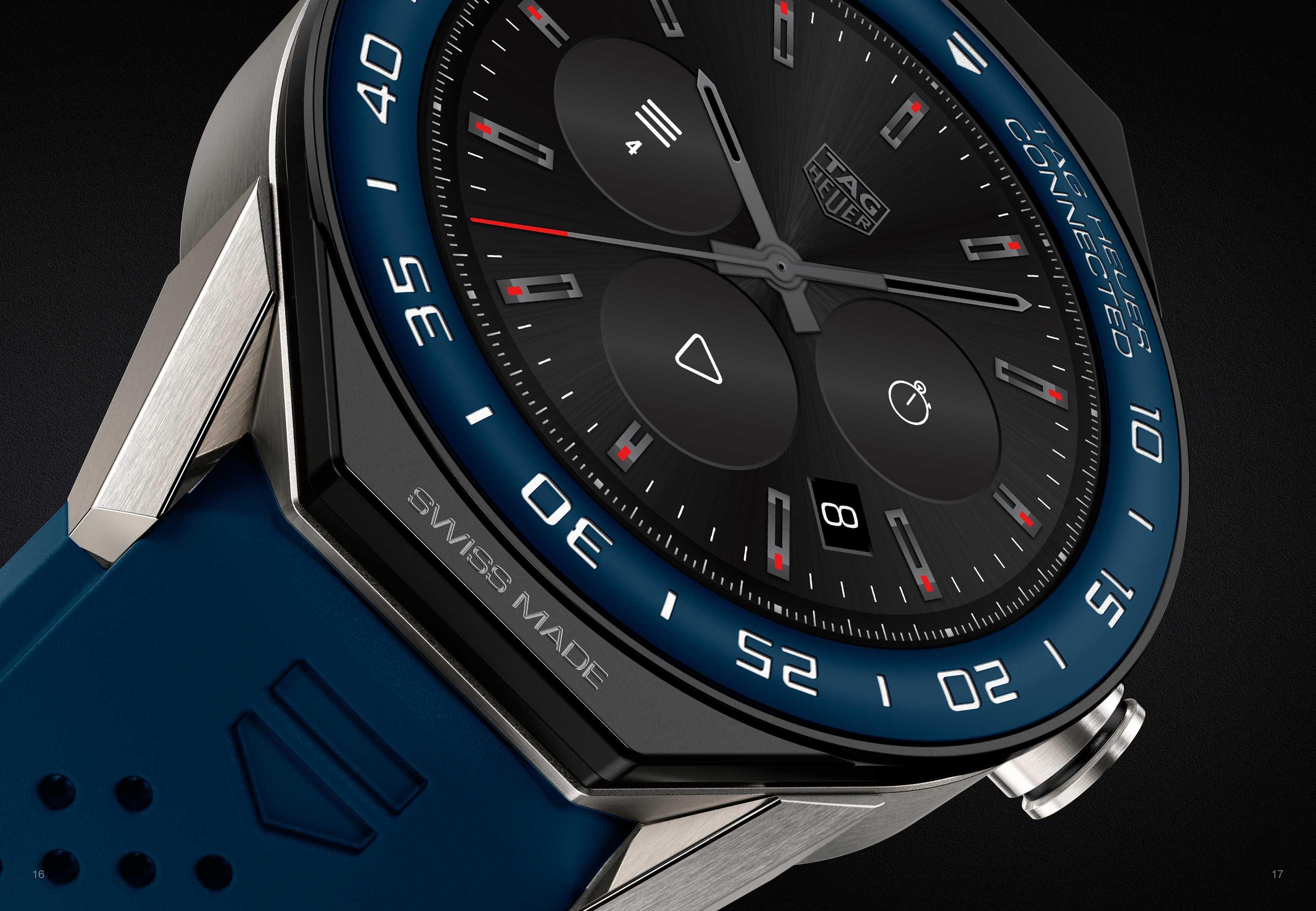 Tag heuer представила третье поколение умных часов tag heuer connected