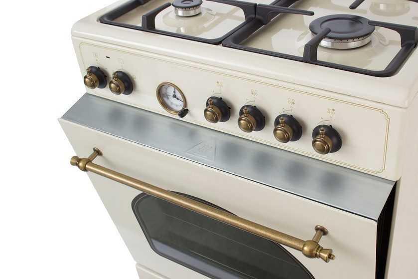 Газовая плита с духовкой для хорошей выпечки / асиенда.ру