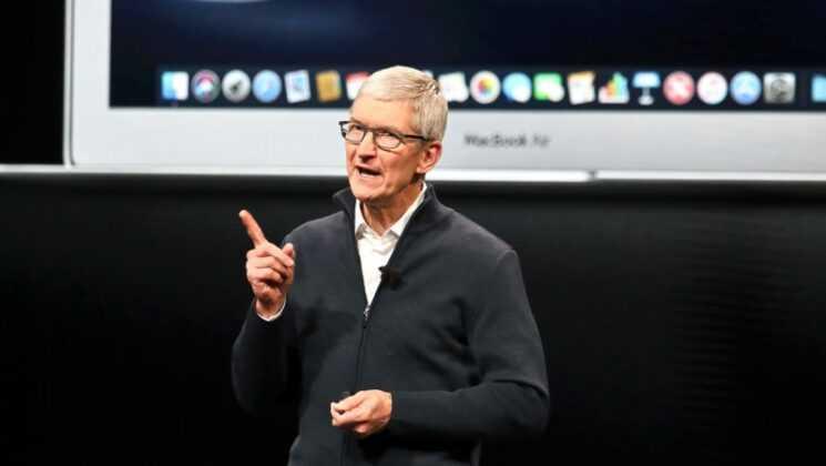Глава apple тим кук теперь миллиардер