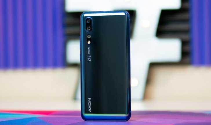 Смартфон zte axon 10 pro blue — купить, цена и характеристики, отзывы