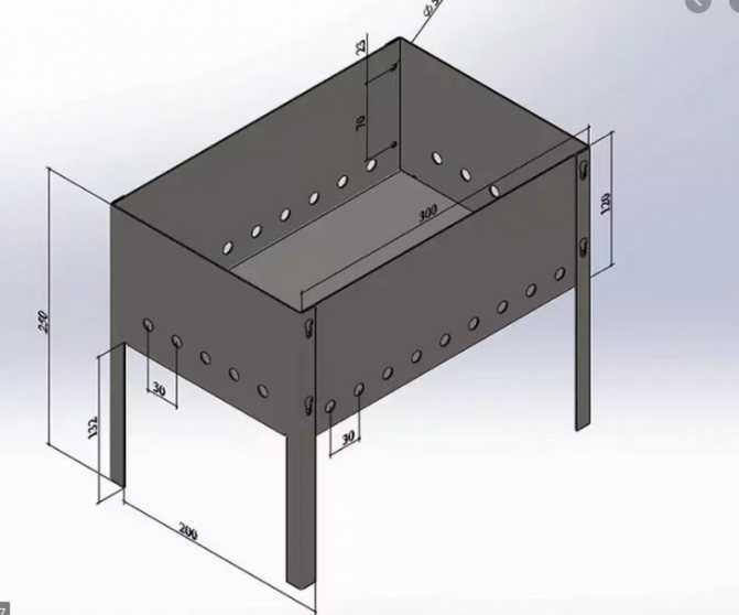 Металл для мангала: какая толщина стенки лучше, как выбрать качественную сталь