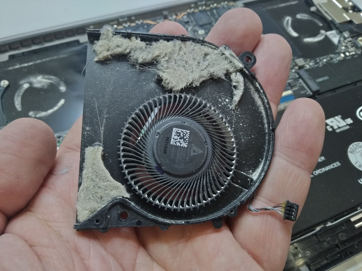 Как очистить ноутбук от пыли