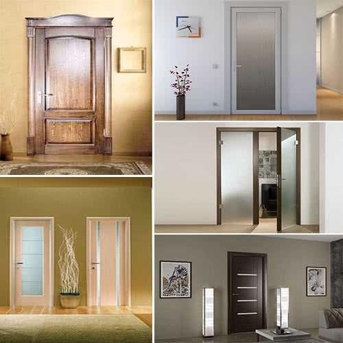Какие межкомнатные двери лучше выбрать, из какого материала