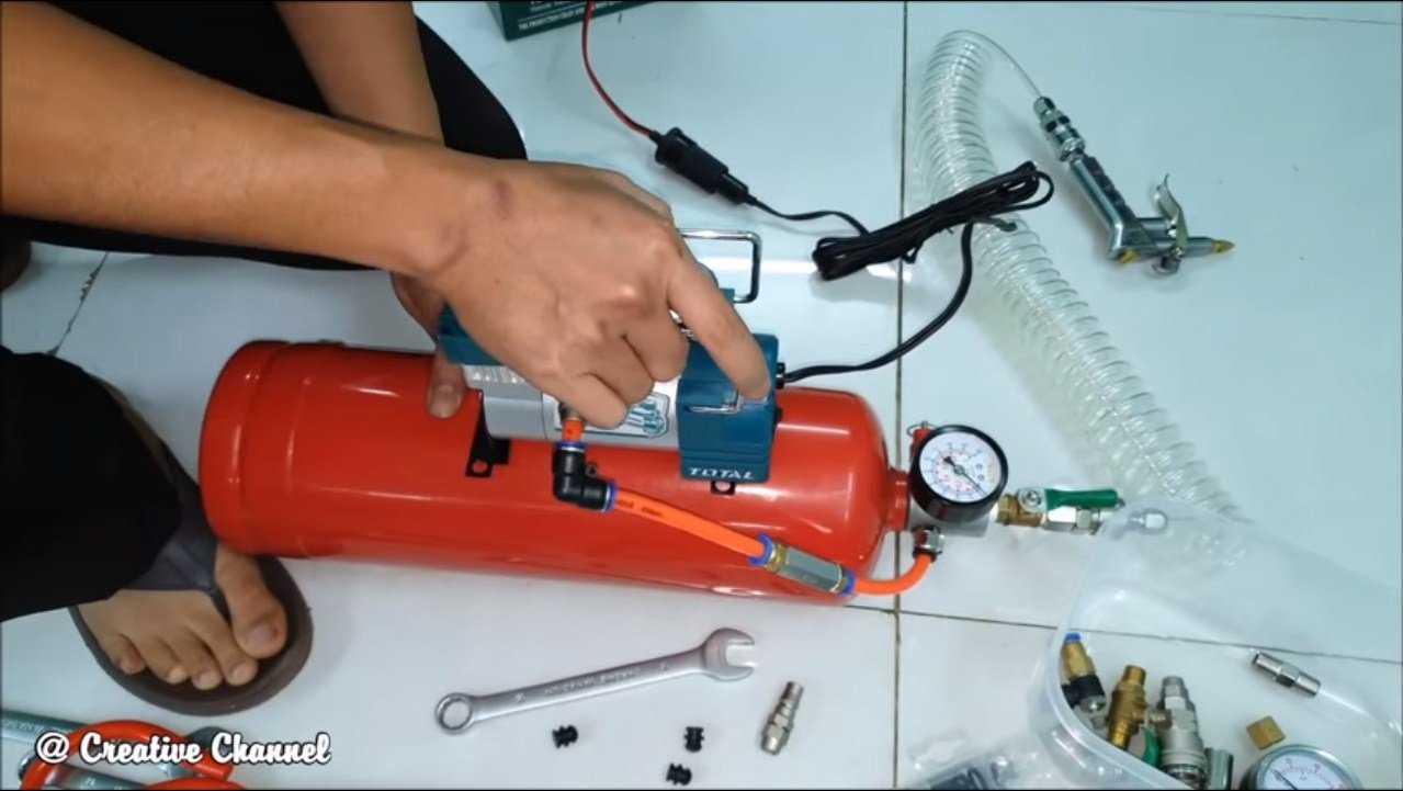 Как выбрать компрессор для покраски и накачки шин автомобиля