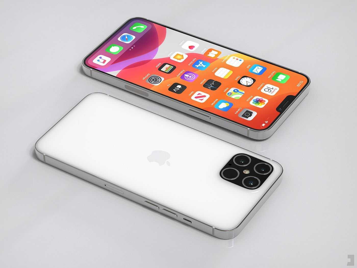 ? здесь всё, что известно про iphone 12