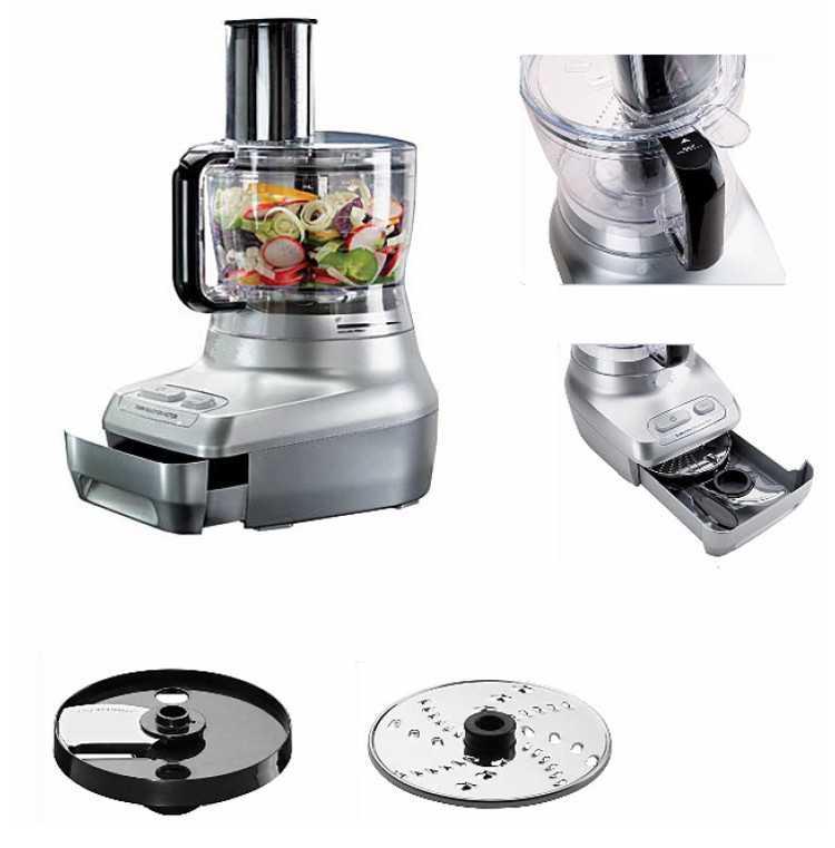 Кухонный комбайн сделает за вас работу на кухне, заменив несколько приборов