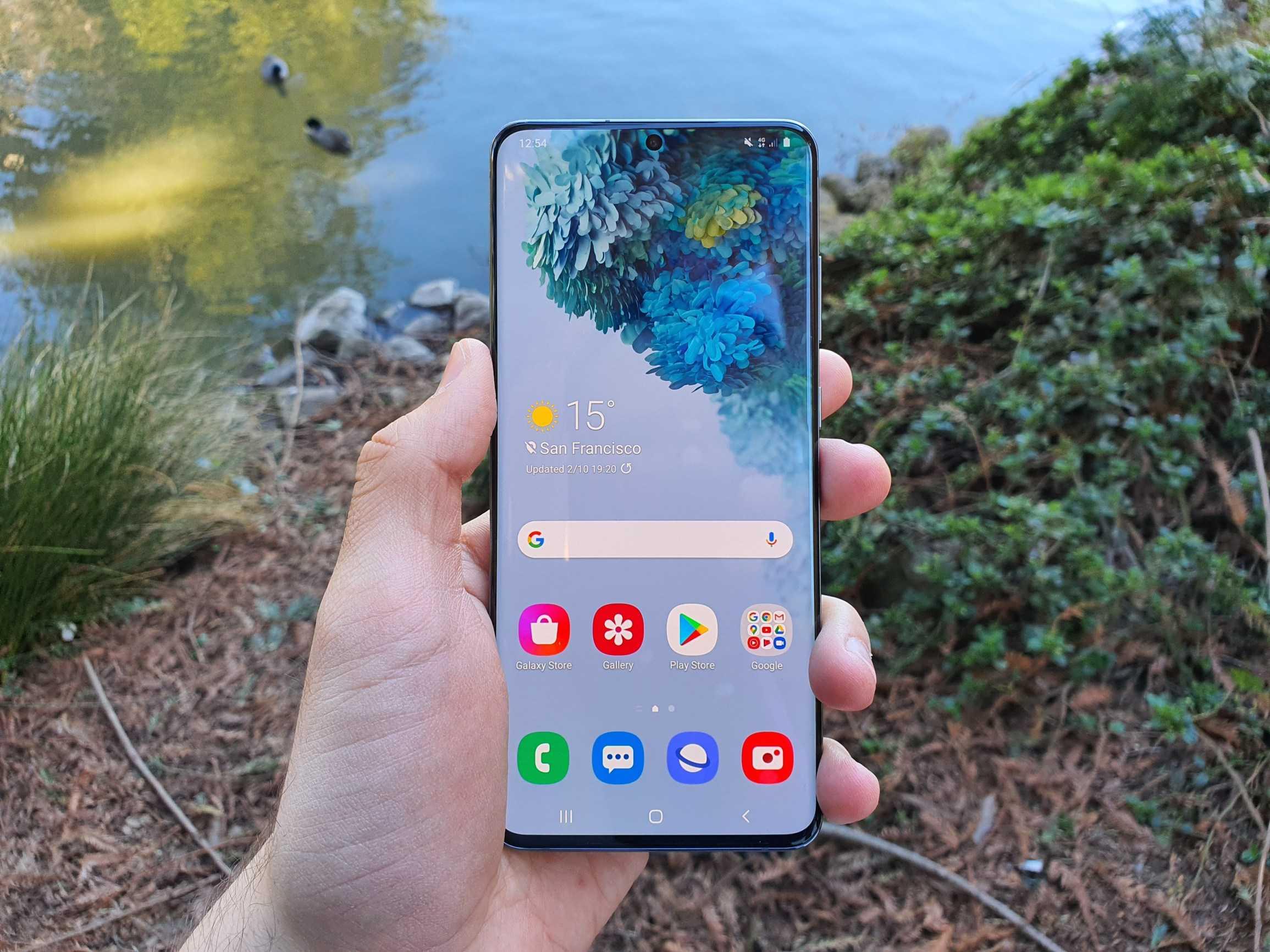 Samsung galaxy s20+ (exynos) camera review