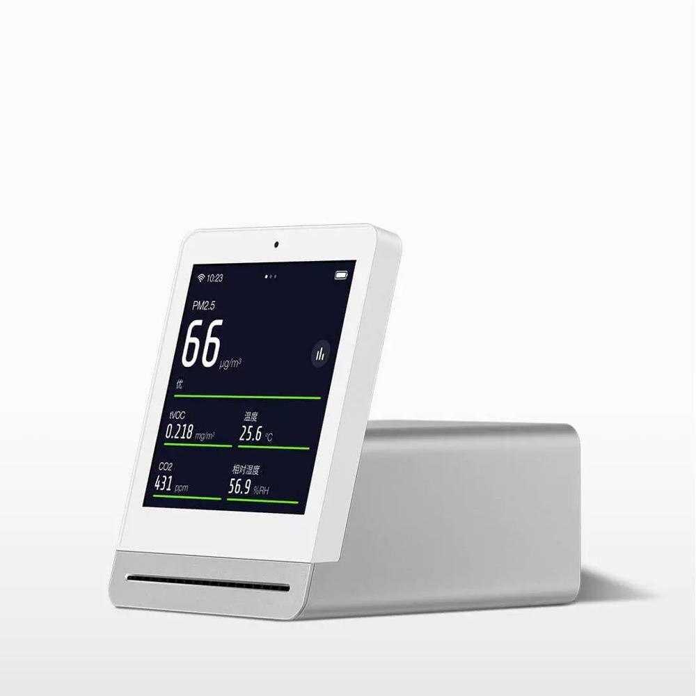 Анализатор воздуха xiaomi mijia air detector и clearglass air monitor