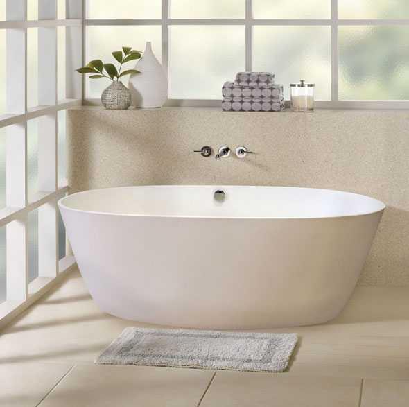 Какую ванну лучше выбрать: акриловая или стальная или чугунная