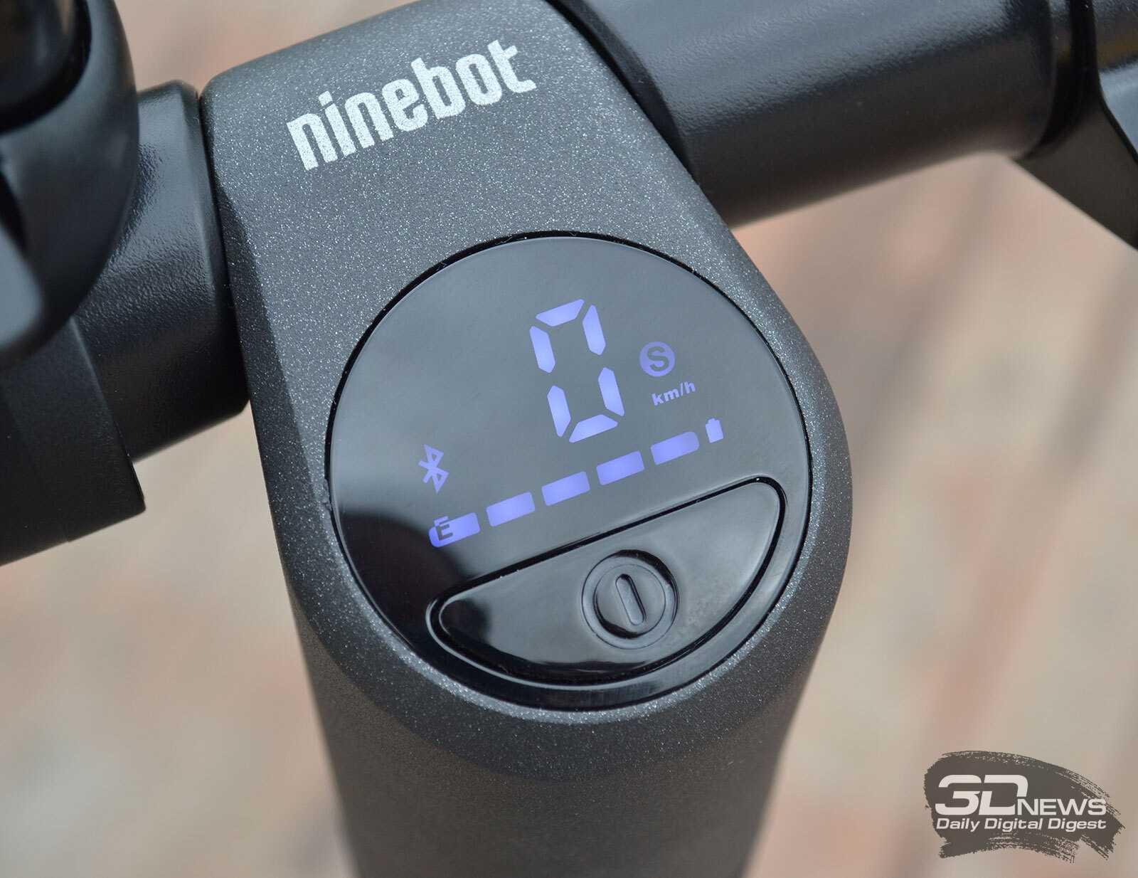Обзор электросамоката segway ninebot kickscooter e22: молод душой