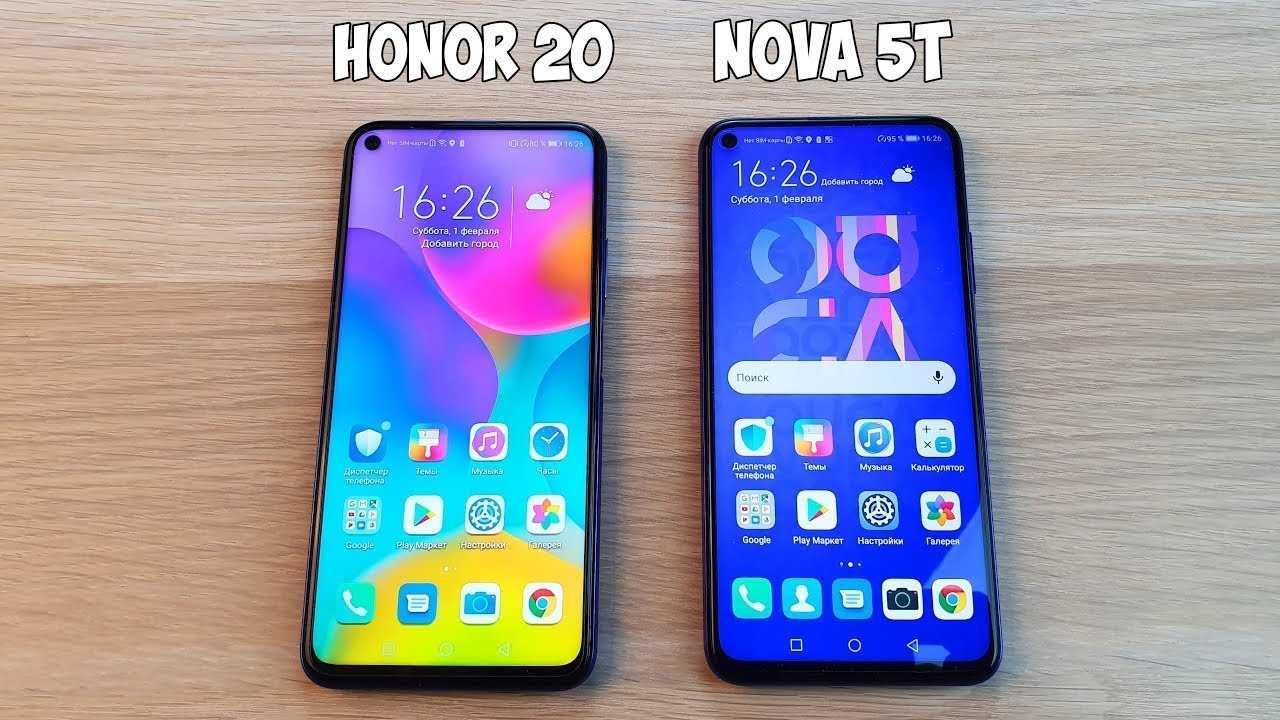 Отличия honor 20 от honor 20 pro — эпоха постандроид-смартфонов