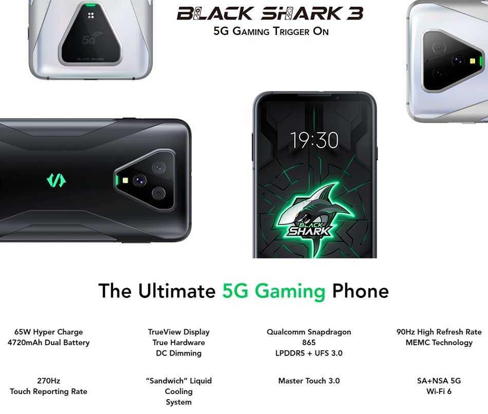 Полный обзор и сравнение смартфонов xiaomi black shark 3 и xiaomi black shark 3 pro с достоинствами и недостатками