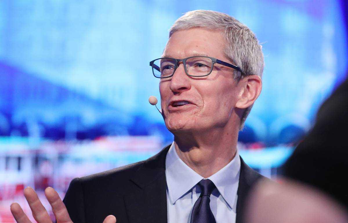Глава apple тим кук наконец стал миллиардером
