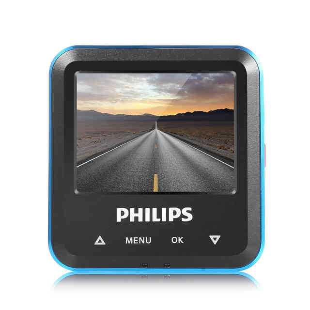 Оригинальная скрытая автомобильная dvr камера philips cvr108, 130 градусов, мини-видеорегистратор с детектором движения, велосипедная записывающая камера