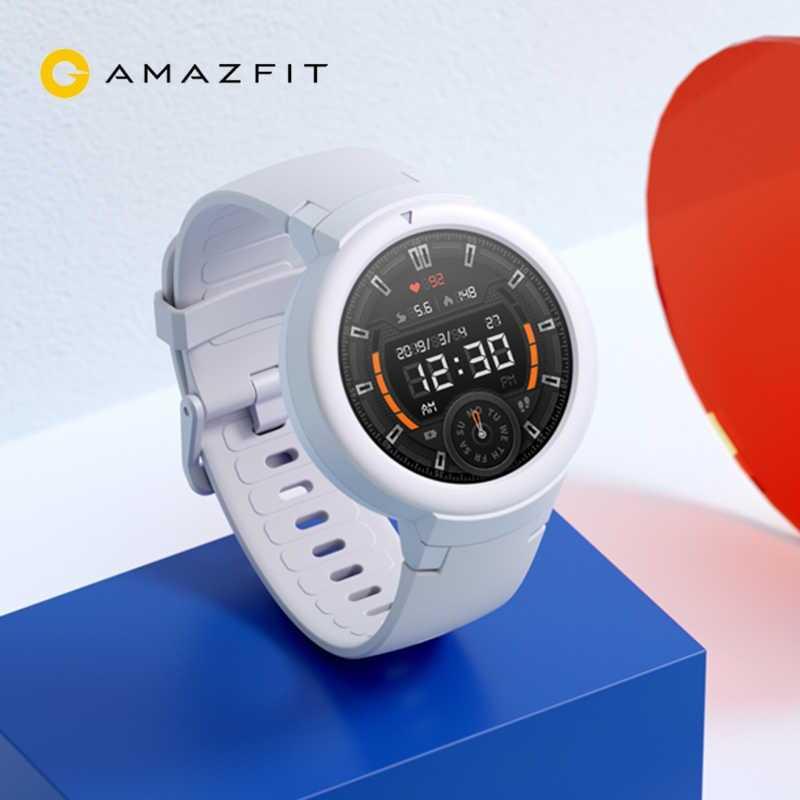 Компания Huami представила упрощенную версию популярных смарт-часов под названием Amazfit Verge Новинка получила отличный пластиковый корпус с защитой от влаги и пыли