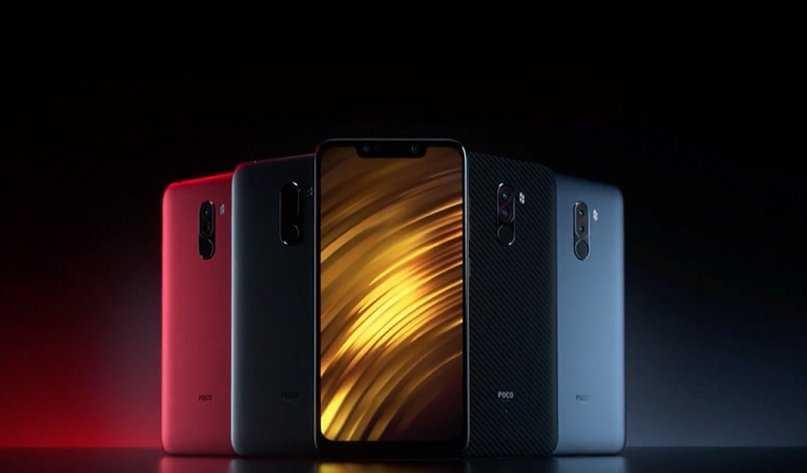 Xiaomi готовится выпустить pocophone f2