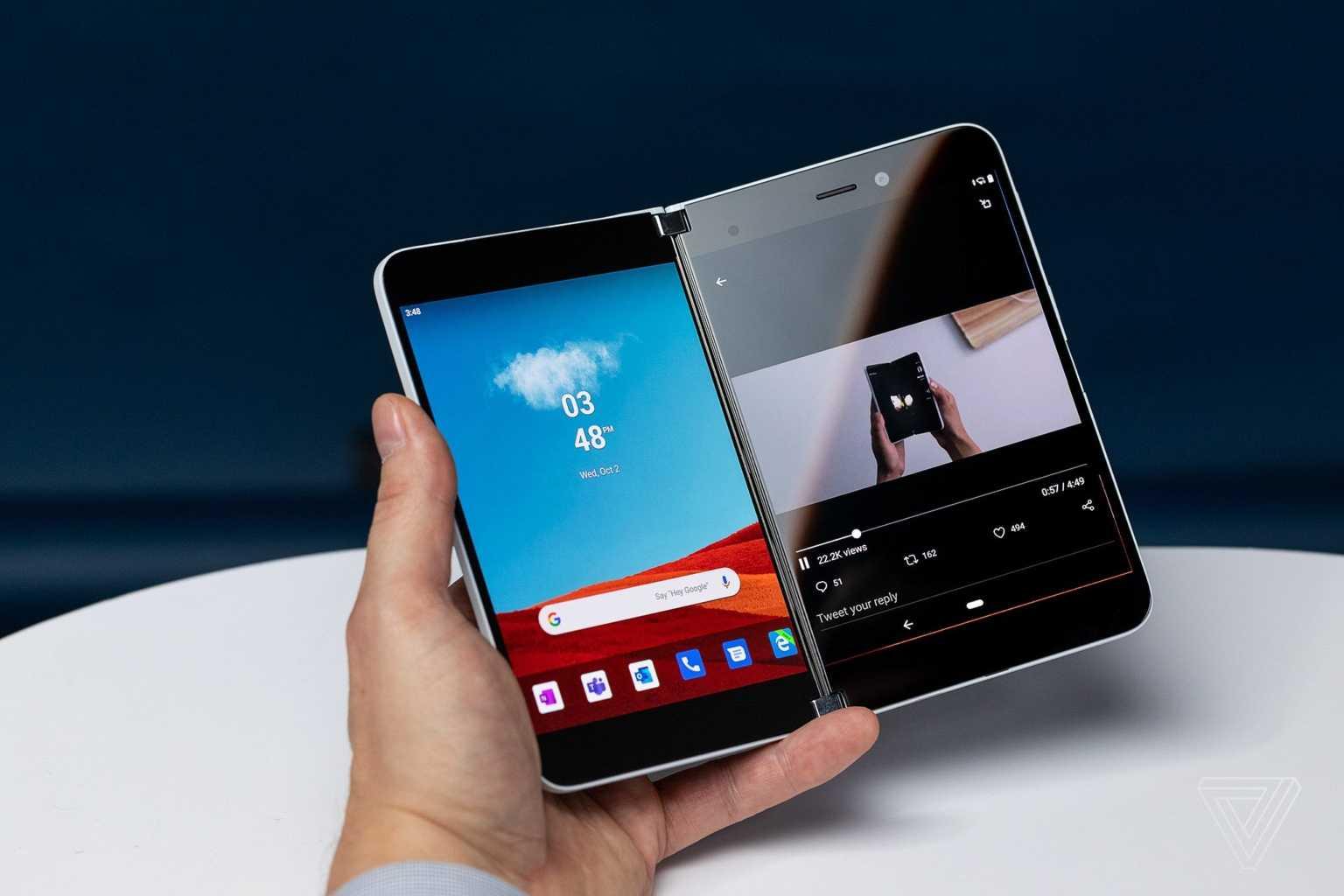 Microsoft выпустила смартфон на android и новую windows - cnews