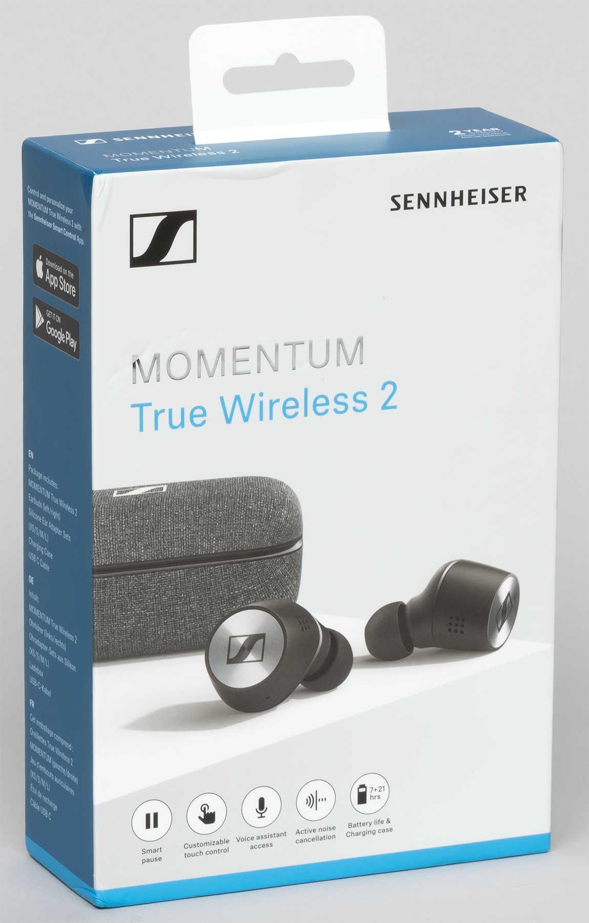 Послушал второе поколение беспроводных sennheiser momentum true wireless: пока, эйрподсы