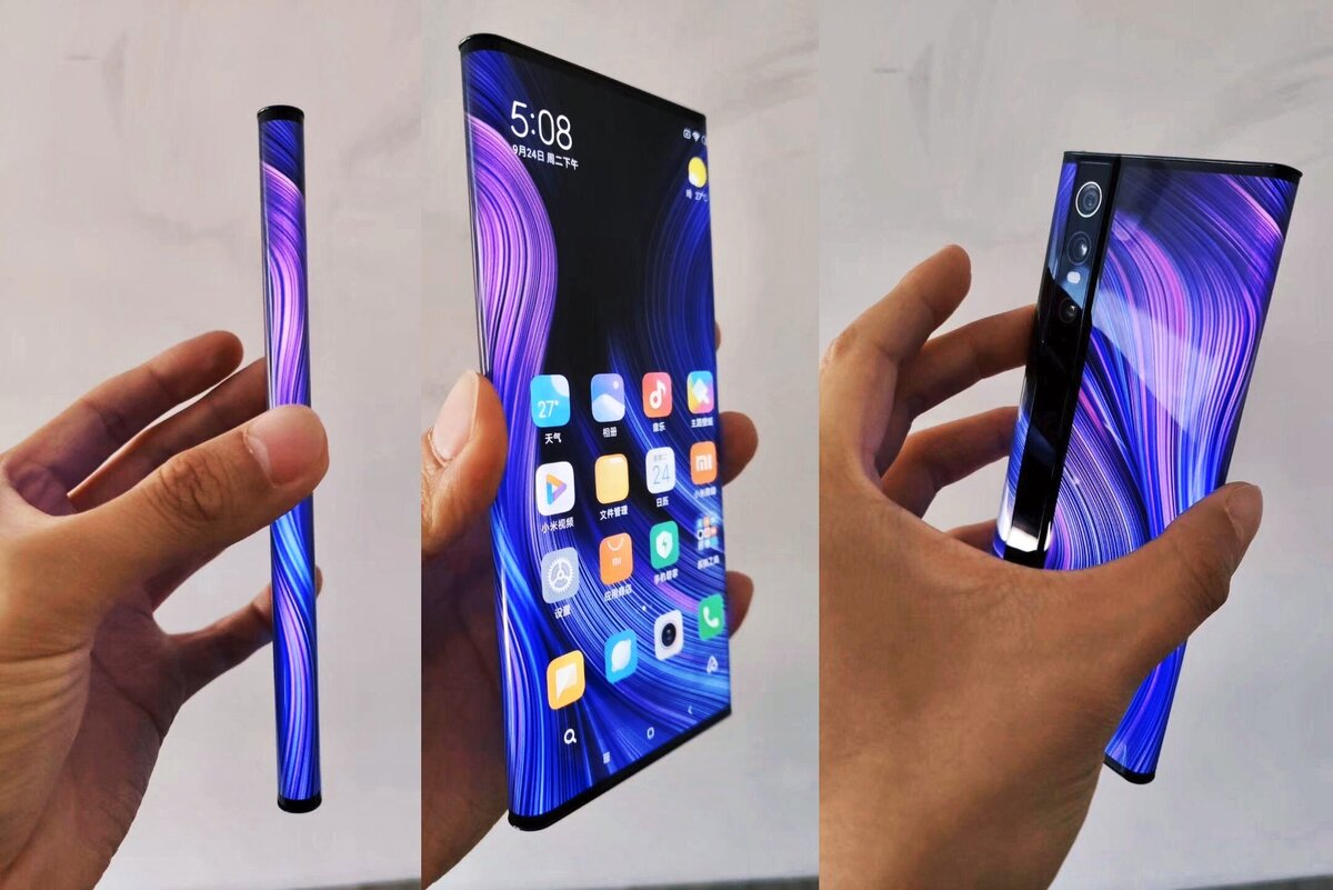 Xiaomi выпустила первый смартфон с «бесконечным» дисплеем и камерой на 108 мп. видео - cnews