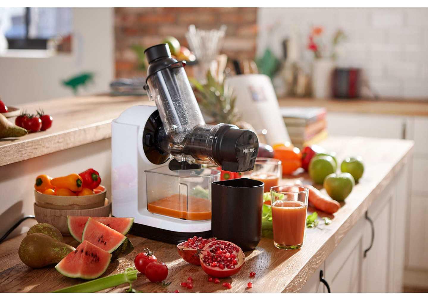 Какие соковыжималки подходят для твердых овощей и фруктов, популярные модели
