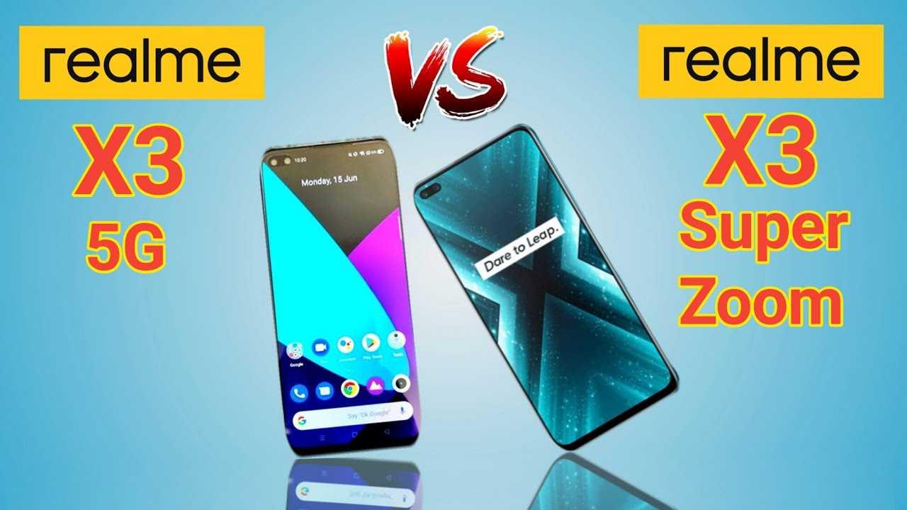 Realme x3 superzoom против oneplus 8