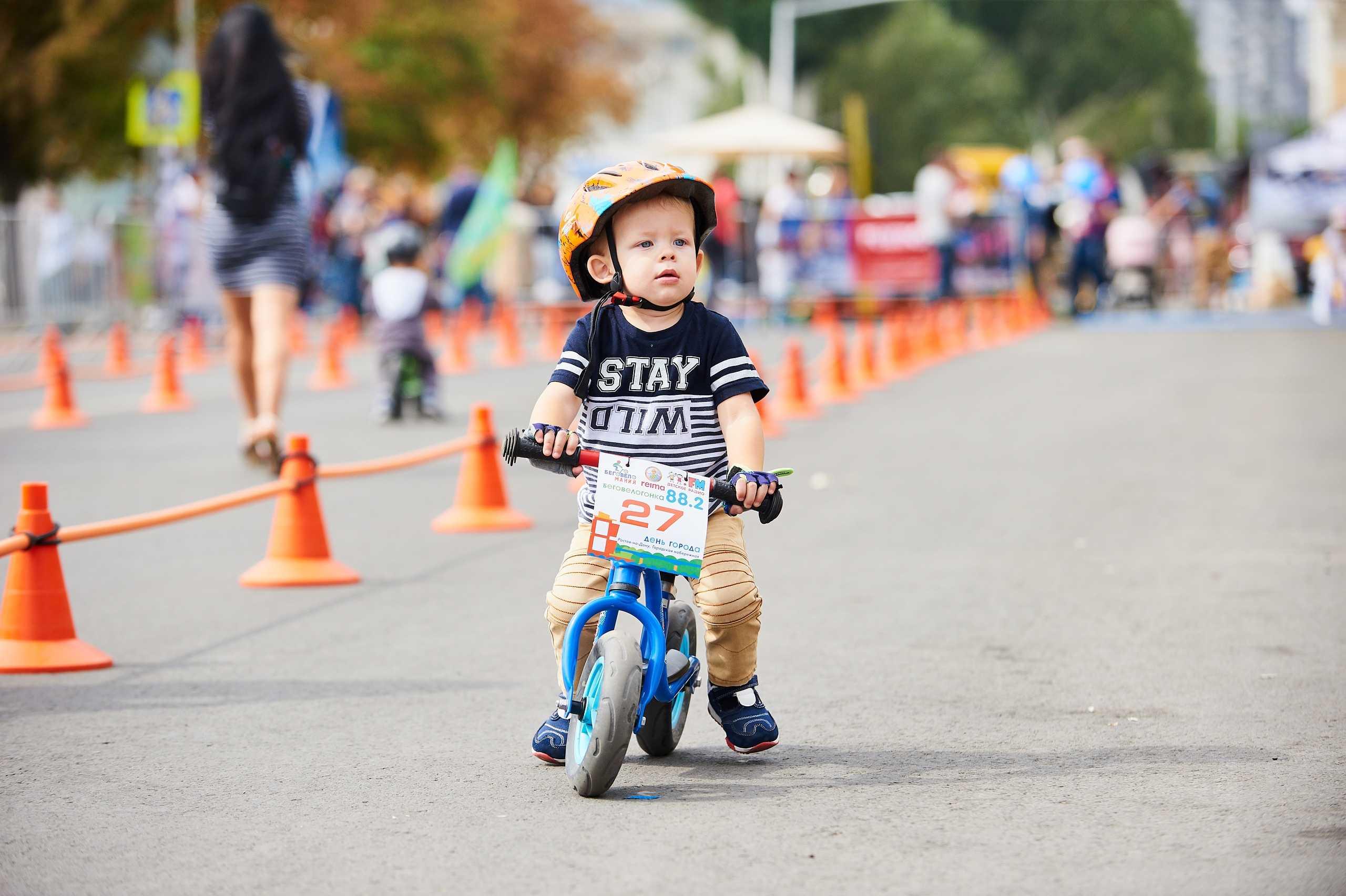 Как выбрать беговел для активного ребенка